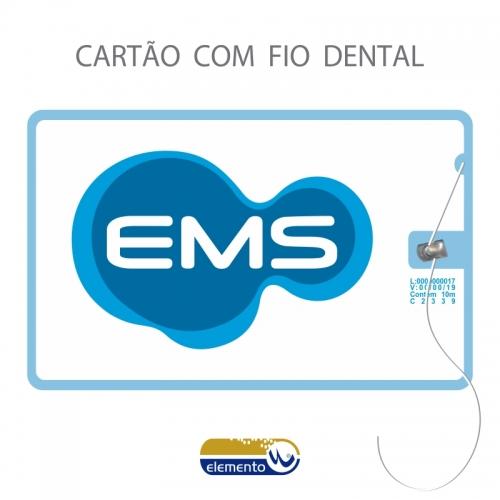 Carrinho - FIOCARD - cartão com fio dental