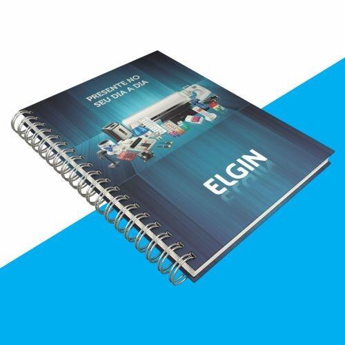 Cadernos personalizados, caderno customizados, capas de cadernos personalizadas - Caderno Personalizado Colors 15x21 cm