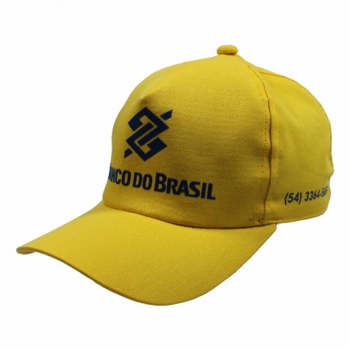 chapéus - Boné de Brim Mod. Americano