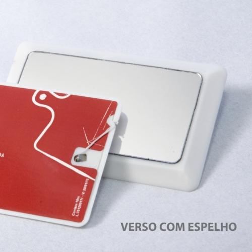 Carrinho - Fiocard - cartão personalizado com fio dental e espelho no verso