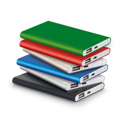 power bank personalizado - Power Bank slim 4.400 mAH- 97379