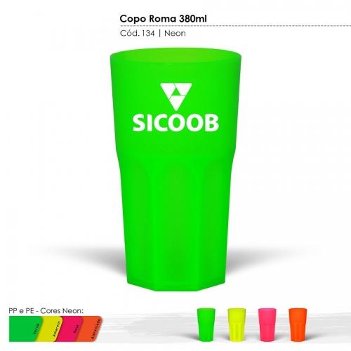 Copo Itália Cores Neons