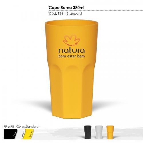 Copos personalizado, Canecas personalizada, Long drink personalizado - Copo Itália Cores Sólidas
