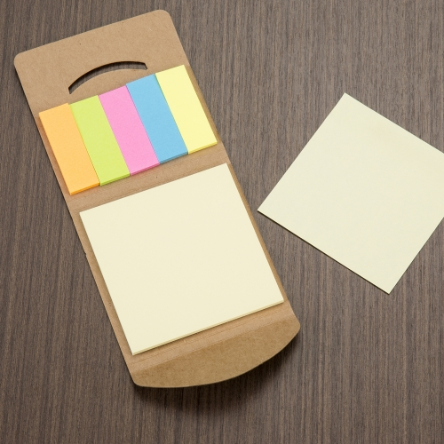 - MINI BLOCO DE ANOT. ECOLOGICO C/ POST-IT