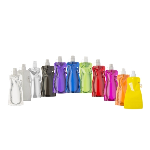 Copos personalizado, Canecas personalizada, Long drink personalizado - Squeeze Dobrável 480ml