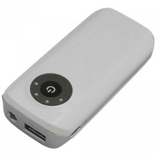 power bank personalizado - Power Bank com Lanterna e Led 1.800 mAH - 12792