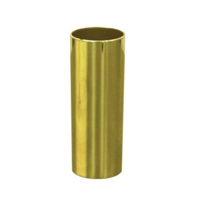 Copo Longdrink metalizado dourado