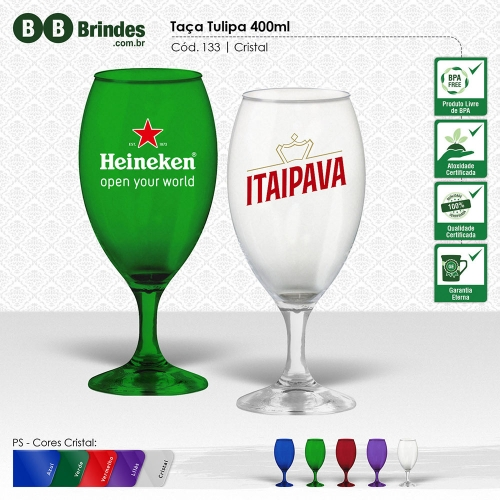 Taça Tulipa 400ml