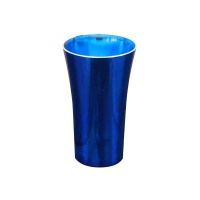 Copos long drink personalizados - Copo Space metalizado colorido