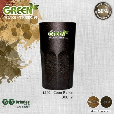 COPO ROMA GREEN 380mL