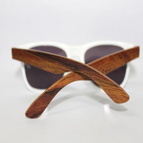 Óculos personalizado - Óculos de sol Madeira (textura/imitação)