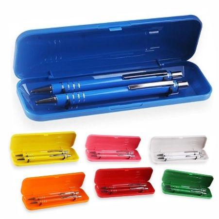 - Conjunto de caneta e lapiseira