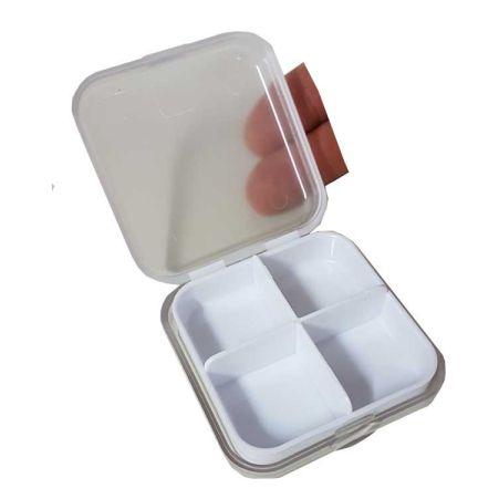 Porta comprimido, porta remédio, porta comprimido mensal, porta remedio - Porta Comprimido