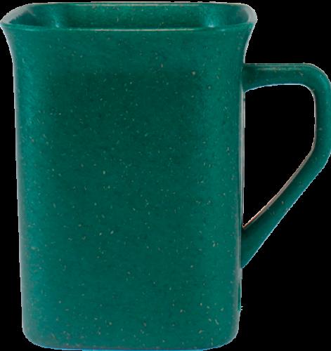 Copos long drink personalizados - Caneca Quadrada Ecológica de Fibra de Madeira em Cores 250ml