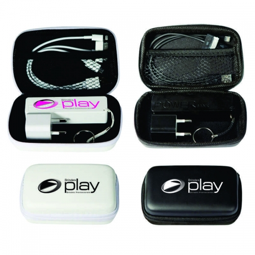 power bank personalizado - KIT TECNOLÓGICO USB