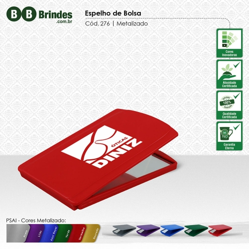 88c070b57 Espelhos para Brindes - Brindes.com.br