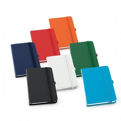 - Caderno capa dura 90X140mm