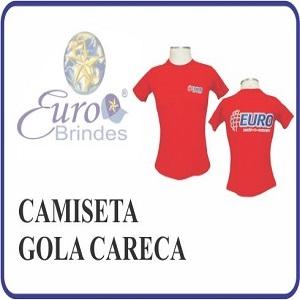 - Camiseta Gola Careca