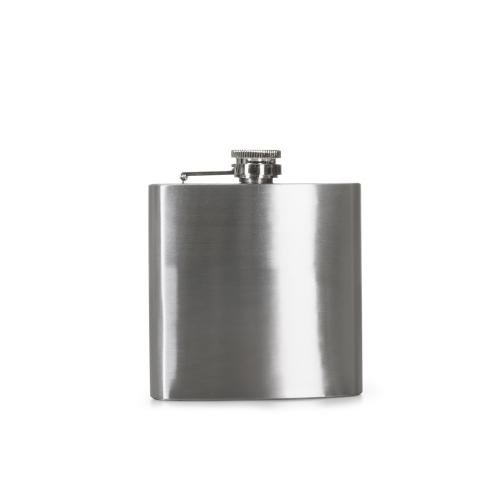 Garrafa personalizada - PORTA WHISKY INOX 6 OZ -INO