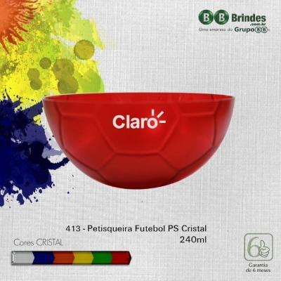 Petisqueira Futebol Cristal 240mL