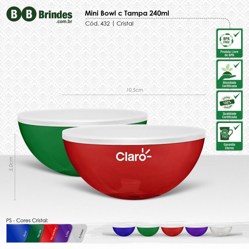 - Mini Bowl c Tampa 240ml