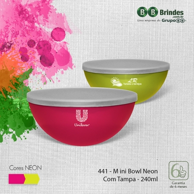 Mini BOWL 240mL com tampa