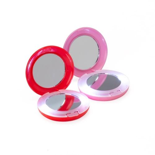 Espelhos personalizados - Espelho Duplo com Luz - 01828