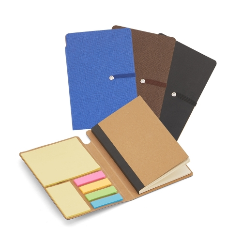 Bloquinho personalizado - Bloco de Anotações com Autoadesivos 14,3 X 10 X 1,3 cm - 14394