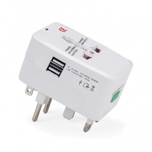 Brindes eletrônicos personalizados - Adaptador Universal - 02043