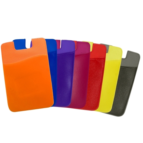 Adesivo Porta Cartão de PVC para Celular - 13937
