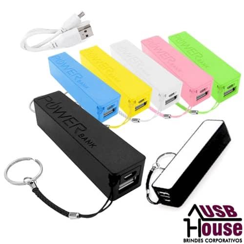 power bank personalizado - CARREGADOR PORTÁTIL USB PERSONALIZADO