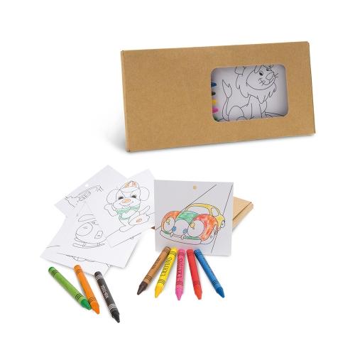 - Kit infantil para pintar