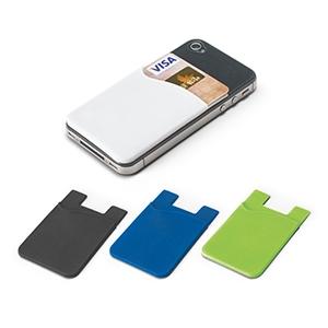 Porta Cartões Para Smartphone em Silicone
