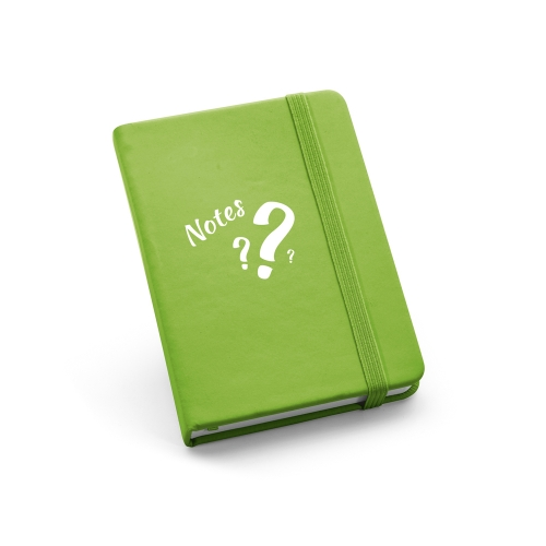 - Caderneta Personalizada estilo Moleskine - 14 x 9cm