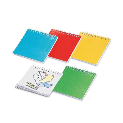 Cadernos personalizados, caderno customizados, capas de cadernos personalizadas - Caderno para colorir