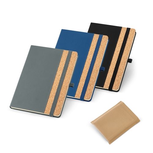 Cadernos personalizados, caderno customizados, capas de cadernos personalizadas - Caderno Capa de Cortiça