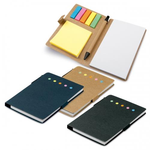 Caderno 3 em 1 personalizado.