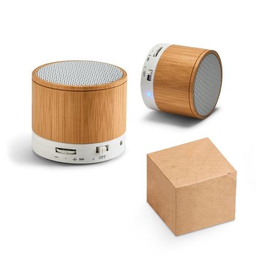 Pen drive personalizado, pen card personalizado, brindes para informática - Caixa de som com microfone Glashow