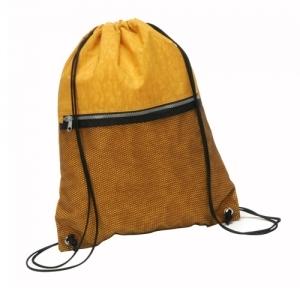 Mochila Saco com bolso e ziper personalziada
