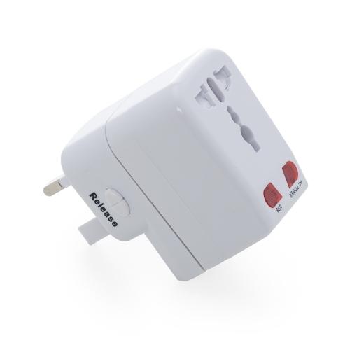 Brindes eletrônicos personalizados - Adaptador Universal