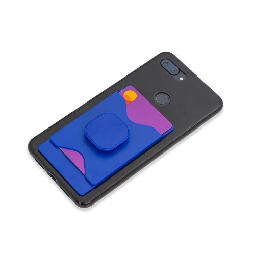 - Adesivo Porta Cartão com Suporte para Celular