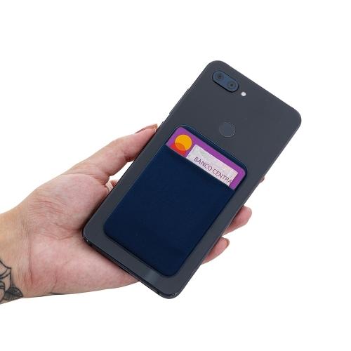 - Adesivo Porta Cartão de Lycra para Celular