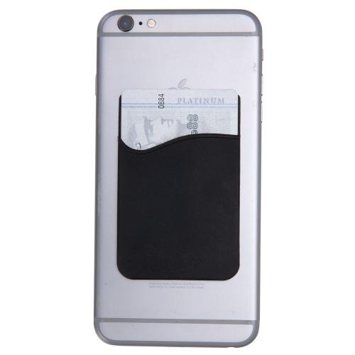 Adesivo Porta Cartão de Silicone para Celular