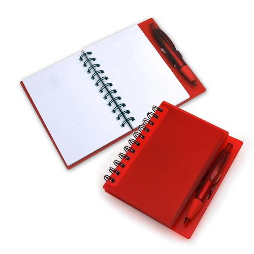 Cadernos personalizados, caderno customizados, capas de cadernos personalizadas - CADERNETA COM CAPA PLÁSTICA