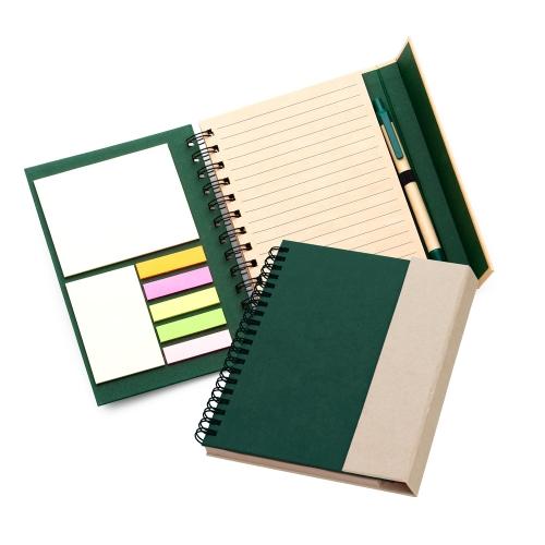 Cadernos personalizados, caderno customizados, capas de cadernos personalizadas - CADERNO COM 7 AUTO COLANTES E CANETA