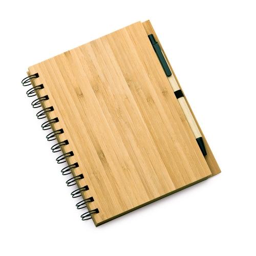 Cadernos personalizados, caderno customizados, capas de cadernos personalizadas - CADERNO COM CAPA EM BAMBU
