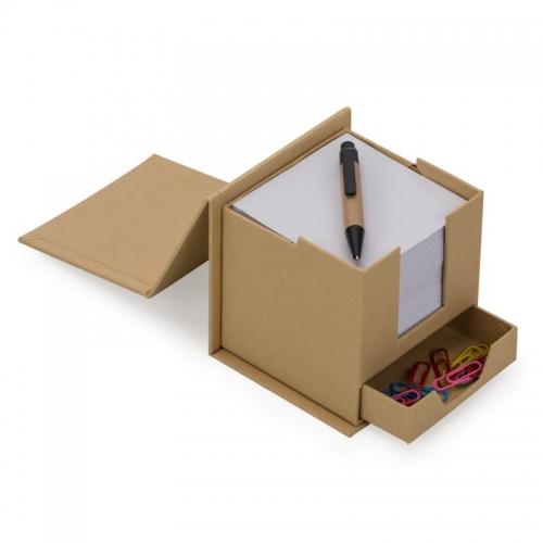 - Bloco de Anotações Cubo com Caneta