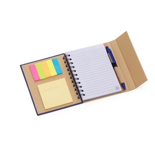 Bloquinho personalizado - Bloco de Anotações com Caneta e Autoadesivo