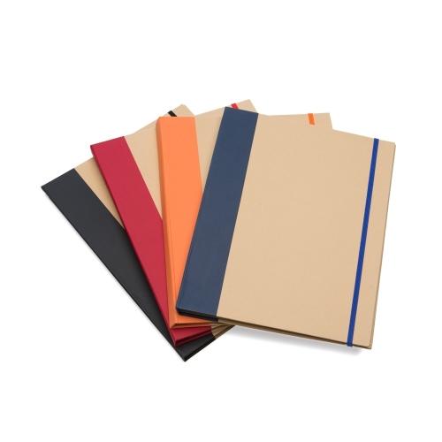 - Bloco de anotações ecológico estilo pasta