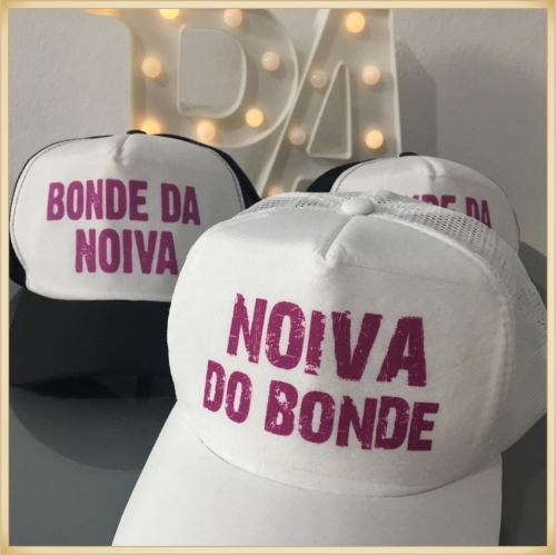 chapéus - Bonés personalizados Despedida Noivas